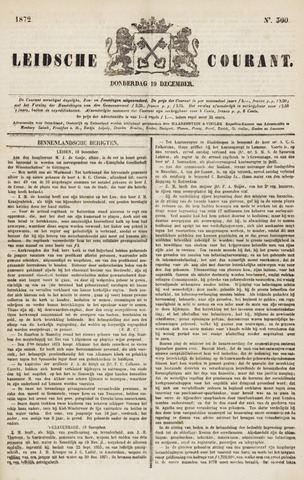 Leydse Courant 1872-12-19