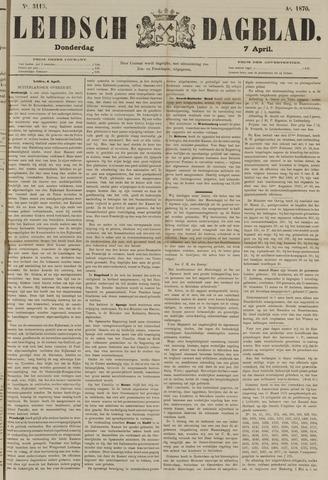 Leidsch Dagblad 1870-04-07