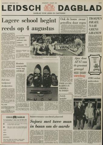 Leidsch Dagblad 1974-12-02