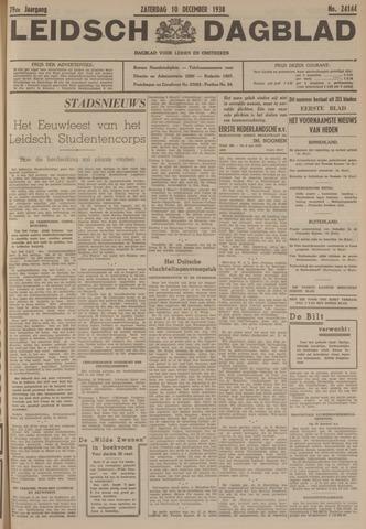 Leidsch Dagblad 1938-12-10