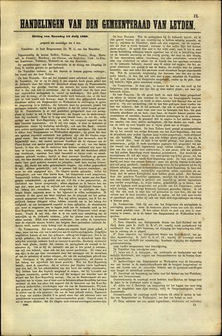 Handelingen van de Raad 1868-07-13