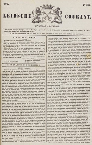 Leydse Courant 1884-12-04