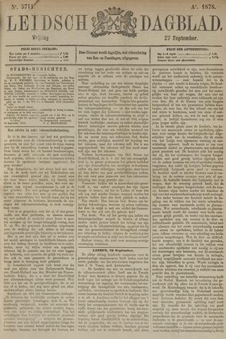 Leidsch Dagblad 1878-09-27