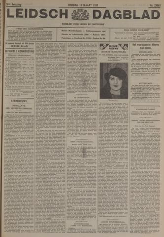 Leidsch Dagblad 1935-03-19