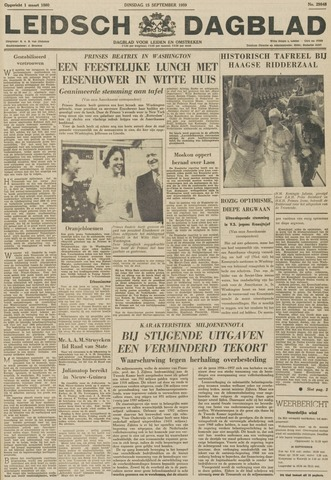 Leidsch Dagblad 1959-09-15
