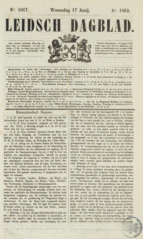 Leidsch Dagblad 1863-06-17