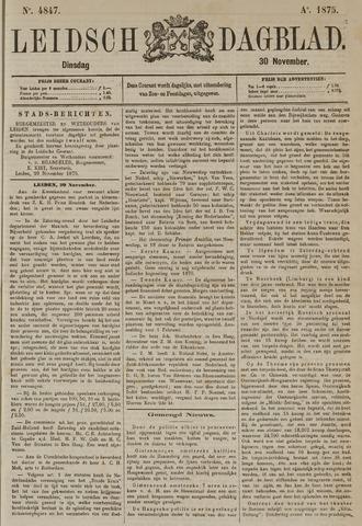 Leidsch Dagblad 1875-11-30