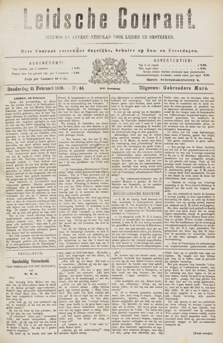 Leydse Courant 1889-02-21