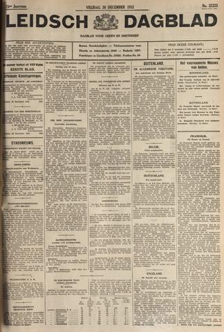 Leidsch Dagblad 1932-12-30