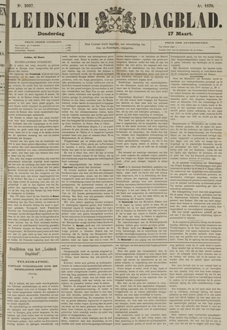 Leidsch Dagblad 1870-03-17