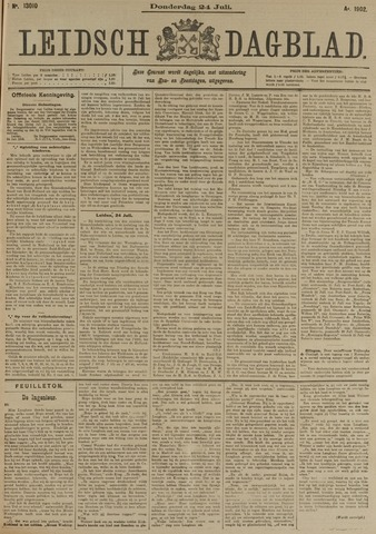 Leidsch Dagblad 1902-07-24