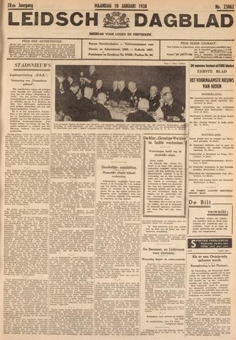 Leidsch Dagblad 1938-01-10