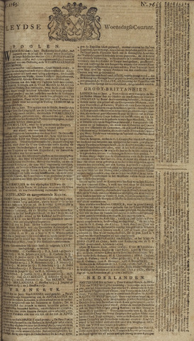 Leydse Courant 1765-06-26