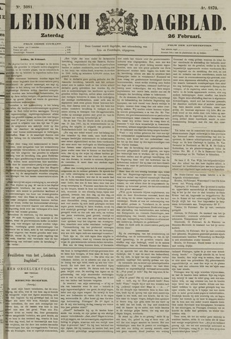 Leidsch Dagblad 1870-02-26