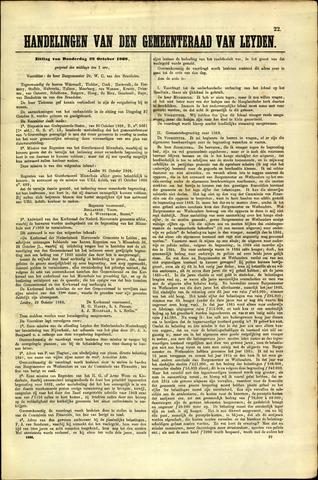 Handelingen van de Raad 1868-10-29