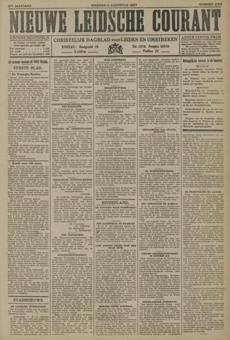 Nieuwe Leidsche Courant 1927-08-02