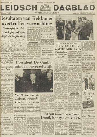 Leidsch Dagblad 1961-11-27