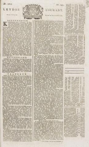 Leydse Courant 1815-11-24
