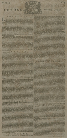 Leydse Courant 1744-01-20