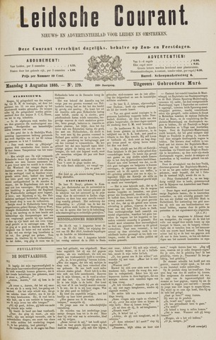 Leydse Courant 1885-08-03