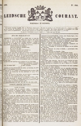 Leydse Courant 1876-10-25