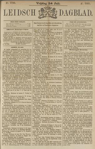 Leidsch Dagblad 1885-07-24