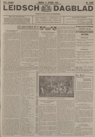 Leidsch Dagblad 1938-10-11