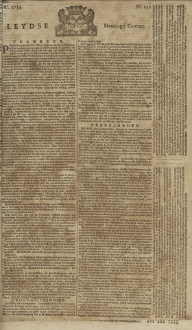 Leydse Courant 1754-09-16