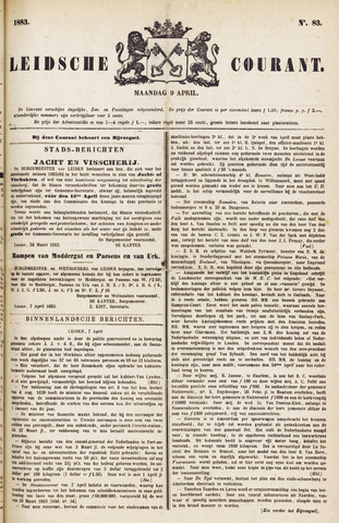 Leydse Courant 1883-04-09