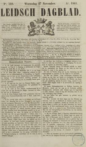 Leidsch Dagblad 1861-11-27