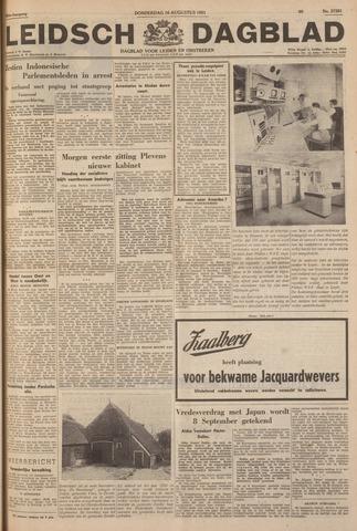 Leidsch Dagblad 1951-08-16