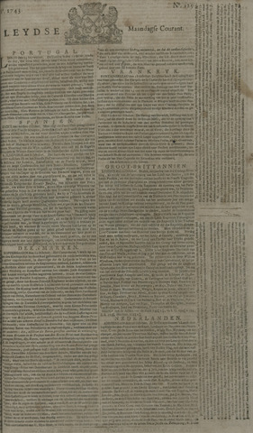 Leydse Courant 1743-10-28