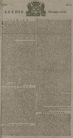 Leydse Courant 1727-09-22