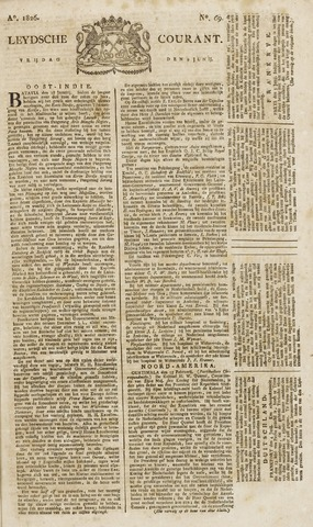 Leydse Courant 1826-06-09