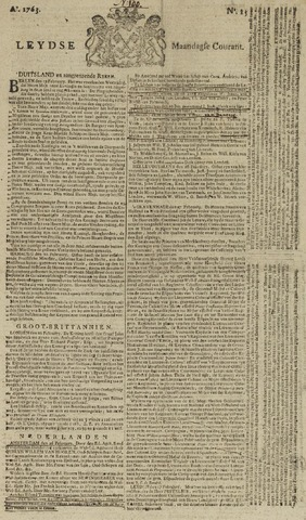 Leydse Courant 1763-02-28
