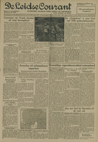 Leidse Courant 1948-02-18