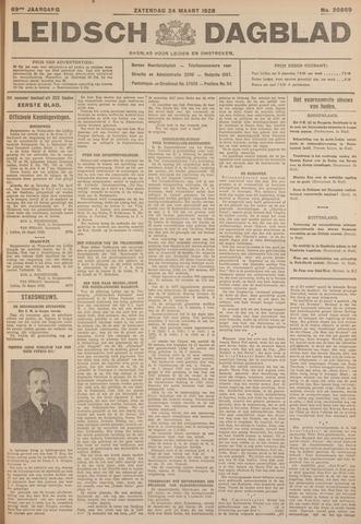 Leidsch Dagblad 1928-03-24