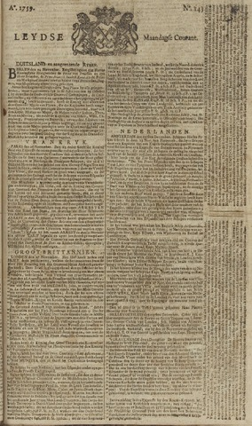 Leydse Courant 1759-12-03