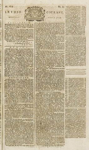 Leydse Courant 1819-07-21