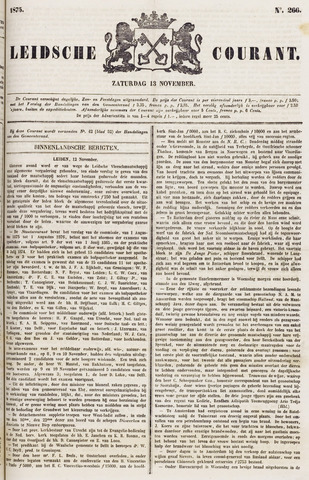 Leydse Courant 1875-11-13