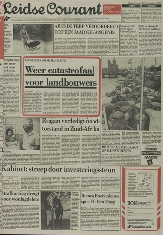 Leidse Courant 1985-08-06