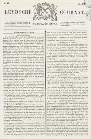 Leydse Courant 1855-08-22