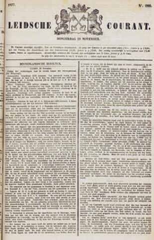 Leydse Courant 1877-11-29