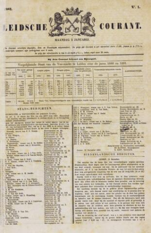 Leydse Courant 1882