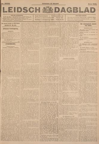 Leidsch Dagblad 1926-03-23