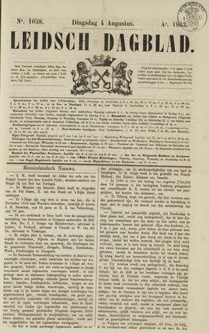 Leidsch Dagblad 1863-08-04