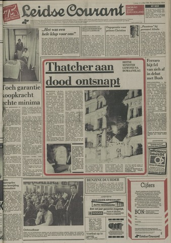 Leidse Courant 1984-10-12