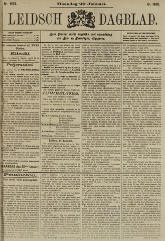 Leidsch Dagblad 1890-01-20