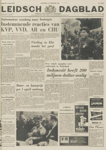 Leidsch Dagblad 1967-02-25