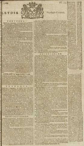 Leydse Courant 1769-10-06